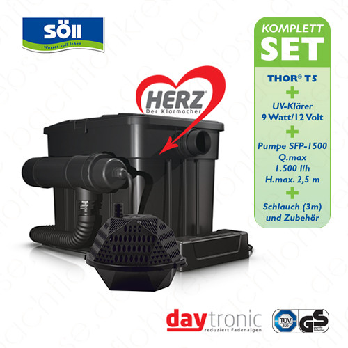 Söll Filterset Thor T5 mit Herz-Technologie - Komplettset