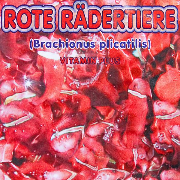 Rote Rädertierchen 100g Frostfutter