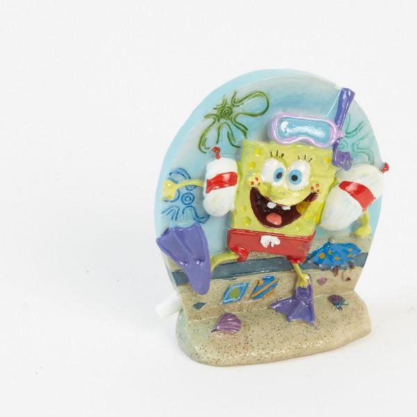 SpongeBob als Taucher - Ausströmer / Sprudler