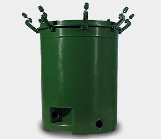 Behälter mit Verschlussbügel