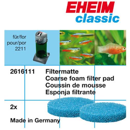 Eheim Filtermatten für Classic 150 / 2211 - 2 Stück