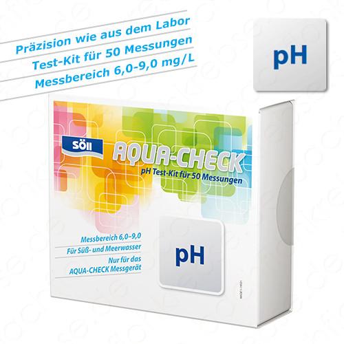 pH-Test für Söll Aqua-Check Photometer 50 Tests