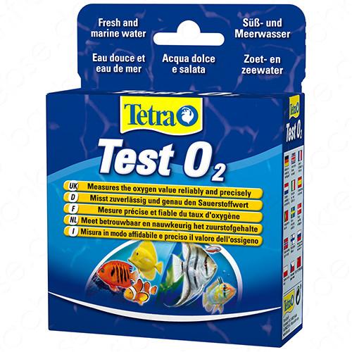 Tetra O2 Sauerstoff Test