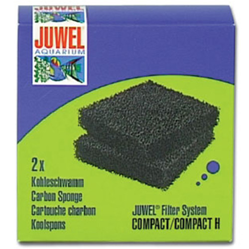 Kohleschwamm Juwel Compact / Bioflow 3.0 2er
