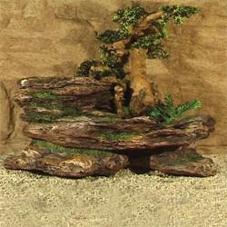 Bonsai Felsen 45x24x35 cm