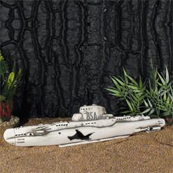 U-Boot Wrack 34x7cm