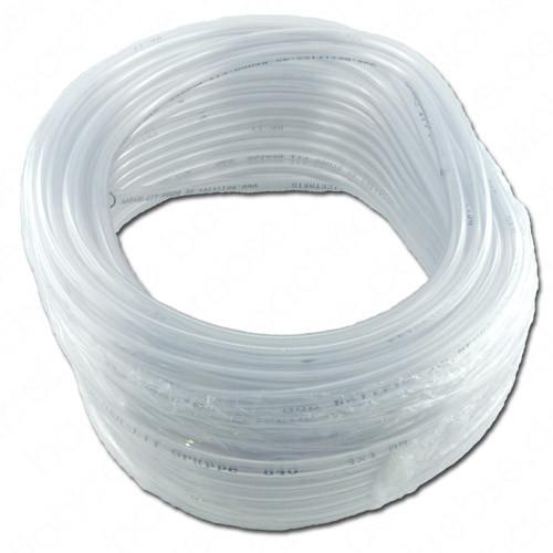 PVC Luftschlauch transparent 4x6 mm, 25 Meter
