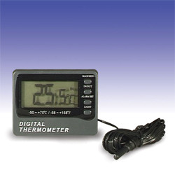 Thermometer-Digital mit Alarm
