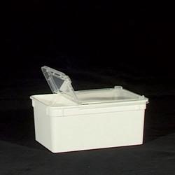 Transportbox weiß 1,3 L