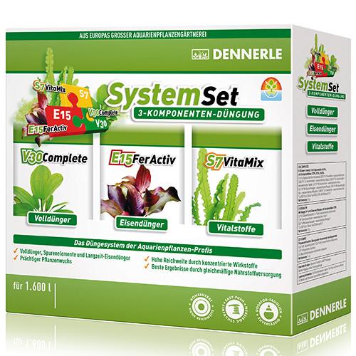 Dennerle Perfect Plant System - Pflanzendünge Set für 800 L