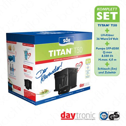Söll Filterset Titan T50 mit Herz-Technologie - Komplettset