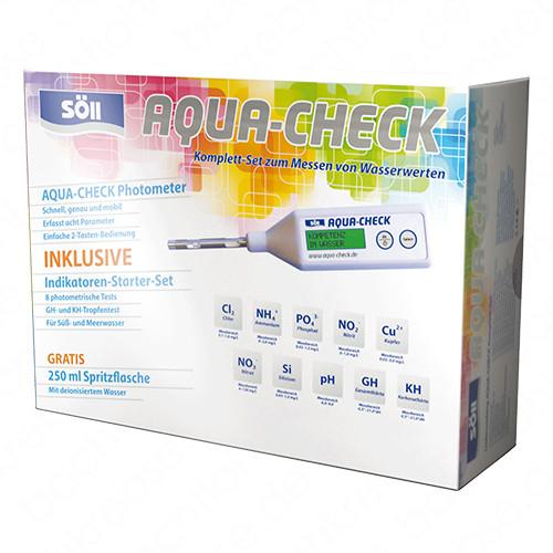 Söll Aqua-Check Photometer Set inkl. Indikatoren