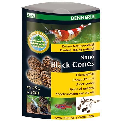 Dennerle Nano Black Cones - Erlenzapfen
