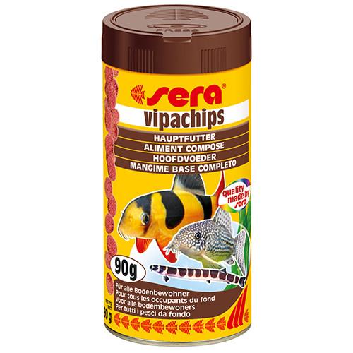 Sera Vipachips - Hauptfutter für Bodenbewohner